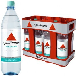 Apollinaris Medium 10x1,0l Kasten PET